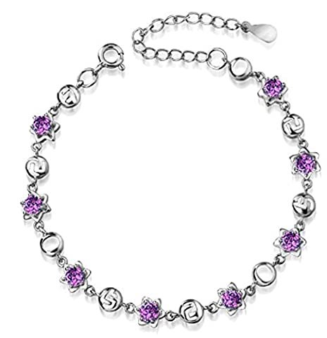 SaySure - S925 Austrian Crystal Rhinestone Bracelets