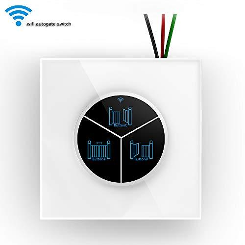 ZSH Smart Garage Door Opener, Voice Control Timing Arrange Remote APP WiFi Smart Switch Garage Door für Alexa und Google Home IFTTT -