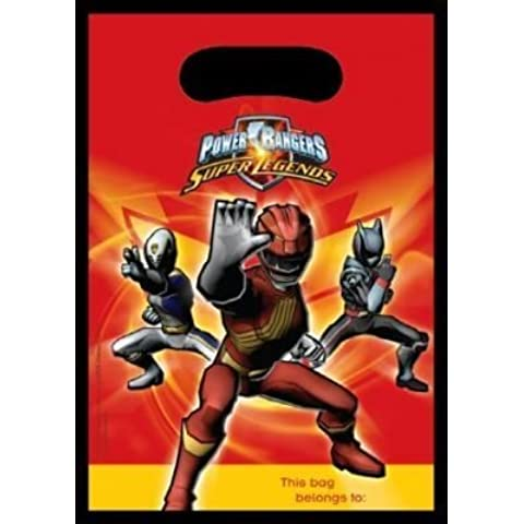 Power Rangers Super Legends Lootbag by Amscan