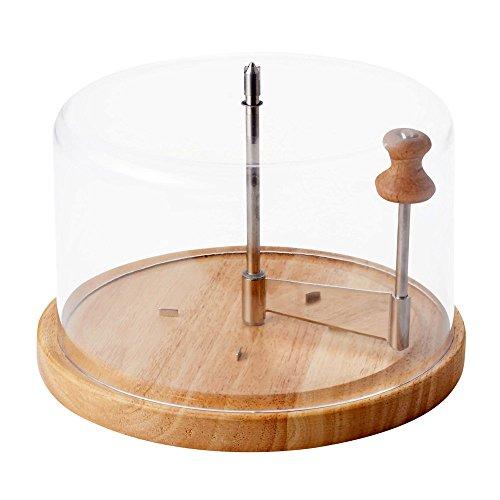 Generico 0114036 - tagliere (girolle) per formaggio tête de moine con campana