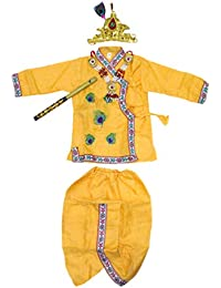 The Holy Mart Krishna Dress for 0-5 Years