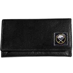NHL Buffalo Sabres Women's Leather Wallet