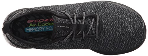 Skechers Burst, Sneakers Basses Femme Noir