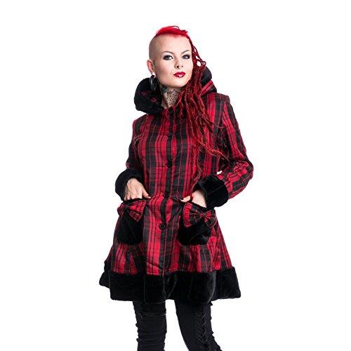 Vixxsin -  Cappotto  - Donna Red Check L