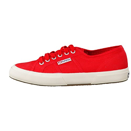 Superga Unisex-Erwachsene 2750 Cotu Classic Low-Top Maroon Red