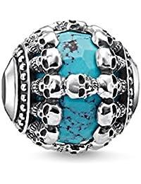 Thomas Sabo Women Silver Bead Charm - K0274-878-17 awZD0M