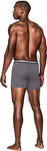 Under Armour Herren Sportswear Unterhose ISO Chill 6 Zoll Boxerjock Graphite