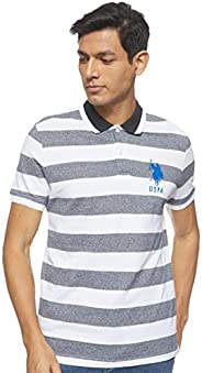 U.S. POLO ASSN. Men's Striped Polo S