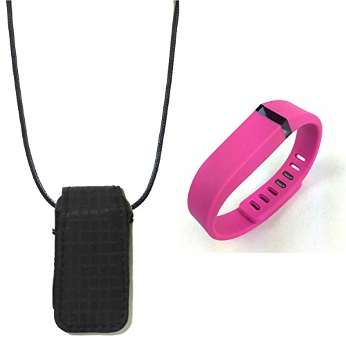 Oem-flex Band (replacement band wristband for fitbit flex and Fashion fabric loop bra Pendant Necklace Holder pouch case)