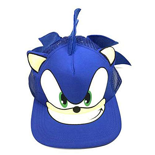 t Sonic Hedgehog Cartoon Jugend Justierbare Baseballmütze ()