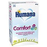 Humana Comfort, bei Blähungen, Verstopfung & Drei-Monats-Koliken, Spezialnahrung bei Verdauungsproblemen, mit aufgespaltenem Eiweiß, von Geburt an, 500 g