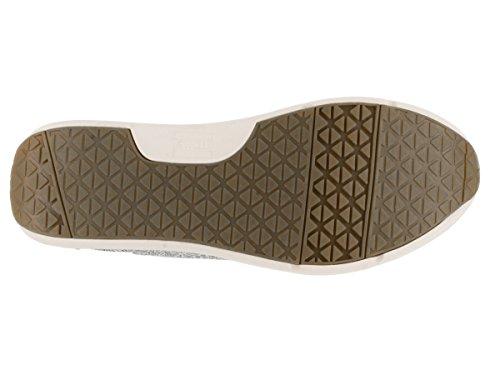 Toms Femmes Del Rey Sneaker Noir Tribal Tissé Gris