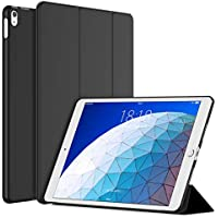 "JETech Case for iPad Air 3rd Generation 10.5"" 2019 Model, Smart Cover Auto Wake/Sleep, Black"