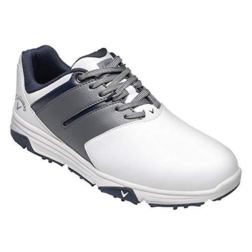 Callaway Chev Mission, Chaussures de Golf Homme, Blanc/Gris...