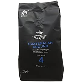 Morrisons The Best Guatemalan Ground Coffee, 227 g, Pack of 6