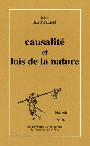 Causalité et Lois de la nature