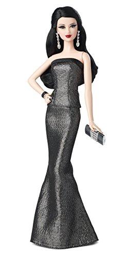 Mattel Barbie BDH27 - Look Doll, Sammlerpuppe, schwarz