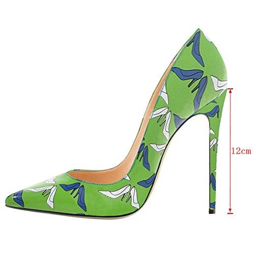 EKS - Punta appuntita donna Green