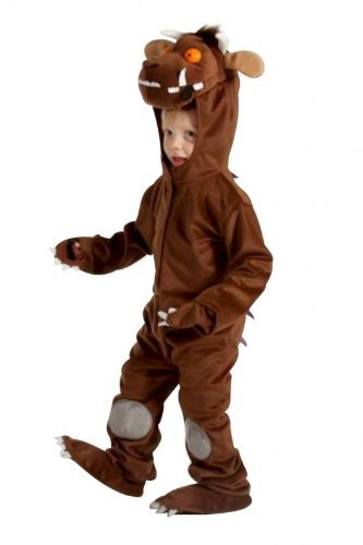 Das Grüffelo Fancy Dress Kostüm Kinder Medium 5-7 years (Leuchtende Fancy Dress Kostüm)