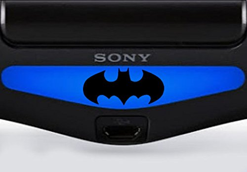 playstation-ps4-lightbar-adesivo-invertiert-inquadratura-nero-nero-batman-classic-schwarz