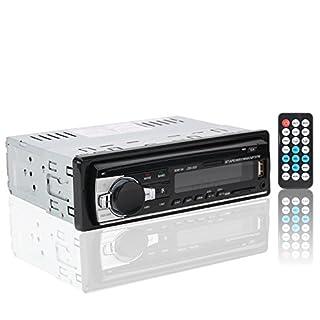 Kfz-Radio Stereo mit Bluetooth, MP3-Player für Armaturenbrett, verstellbar für SD Karte, USB, Handy, JSD-520-Modell mit LCD-Anzeige.