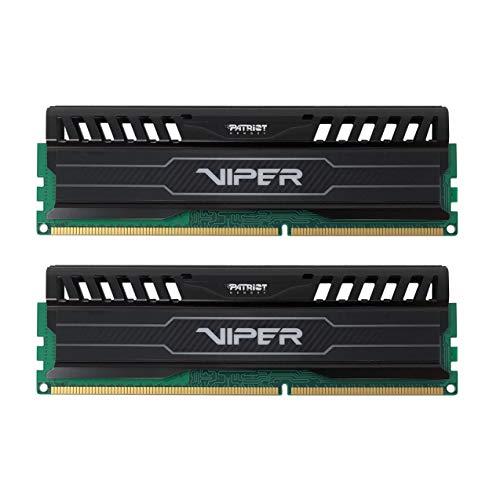Patriot Memory Viper 3 PV316G160C9K Black Mamba Arbeitsspeicher 16GB (1600MHz, CL9, 2X 8GB) DDR3-RAM Kit