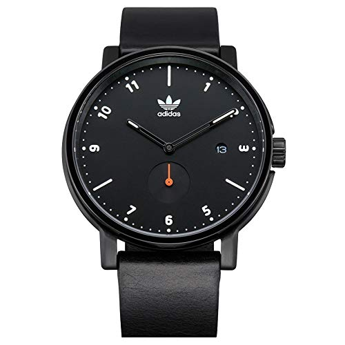 Adidas Originals District LX2 Watch One Size All Black/White / Orange