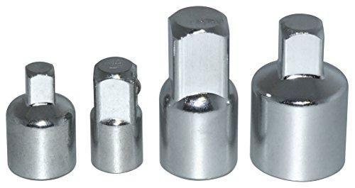 Am-Tech - Set di raccordi riduttori in acciaio per chiavi a bussola, 4 pezzi, I5500 - Acciaio Torque Wrench