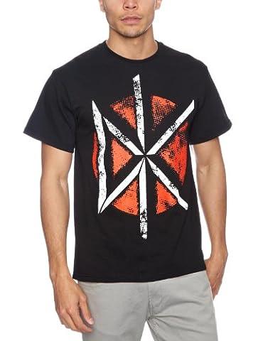 Plastic Head Dead Kennedys Distressed Dk Logo Men's T-Shirt Black