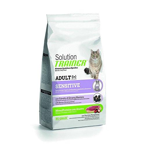 TRAINER Solución Sensible gato comida seca para gatos de primera cali