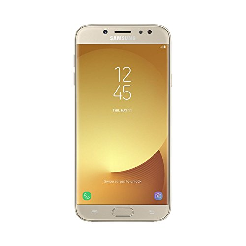 Samsung Galaxy J7 2017, Smartphone libre (5.5'', 3GB RAM, 16GB, 13MP/Versión europea), color Dorado