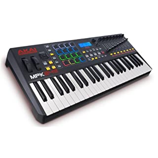 AKAI Professional MPK249 Compact 49-Key Semi-Weighted USB MIDI Keyboard Controller, Including Core Control from the MPC Workstations with Software Package