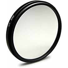 Filtro UV ultravioleta 77 mm para Nikon D300S | D3S | D4 | D800 - Canon EOS 5D Mark II - Sony Alpha 850 | Alpha SLT-99V y mucho más + High-Tech paño de limpieza