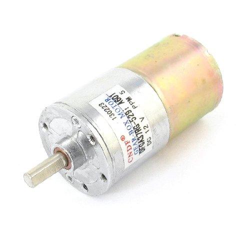 12VDC 5rpm 2Terminals Speed Reduzierstück magnetisch Geared Motor - 2 Speed Ersatz-motor