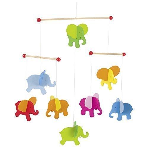Goki 52904 Mobile Elefant