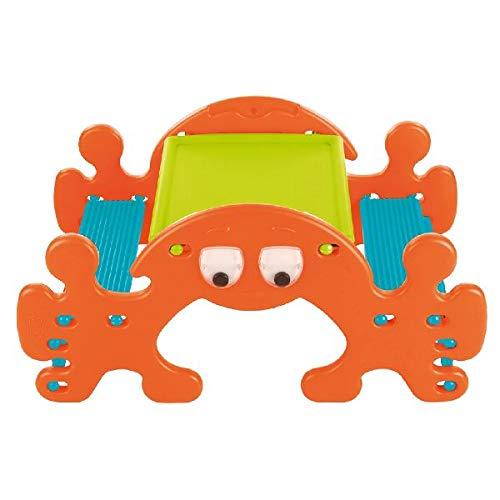 FEBER Famosa 800010242 Ghost Picnic - Kinderspielzeugsitz, für Kinder von 1 bis 3 Jahren, orange