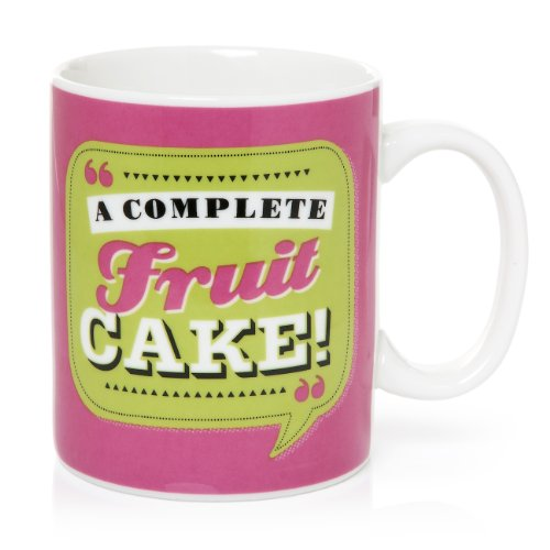 Back Chat HotchPotch Mug en céramique A Complete Fruit Cake 369 ml