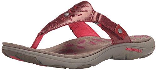 Merrell Adhera Thong Sandale Cranberry