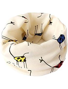 Lubier Baumwolle Rundhals Schal Cosy Soft für Kinder Baby Unisex für den Herbst Winter,1 Stück Beige