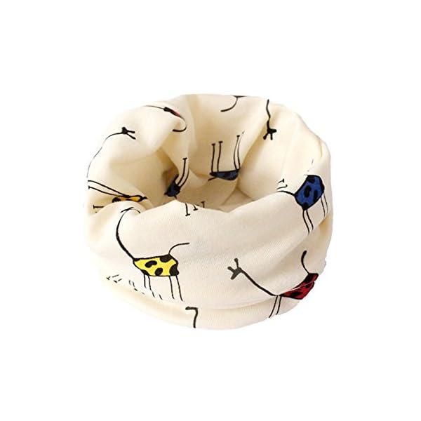 VI. yo gato pañuelo de los niños dibujos animados niños niñas niños algodón cuello bufandas Multi uso calentador de… 1