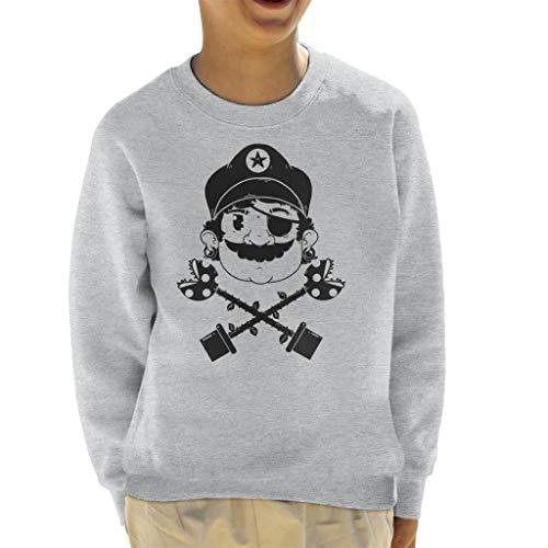 Cloud City 7 Pirate Super Mario Kid\'s Sweatshirt