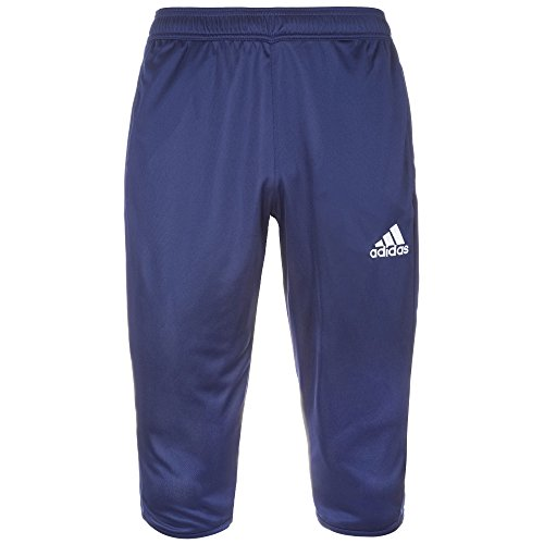adidas Herren Core 15 3/4 Trainingshose M dark blue/white -