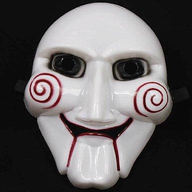 TY ausverkauft Fabulous die Säge Figur Clown-Gesichtsmaske Scary Gadgets für Halloween-Kostüm ()