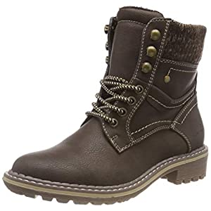 TOM TAILOR Damen 585200930 Stiefeletten