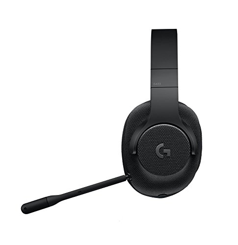 Logitech G433 Kabelgebundene Gaming Kopfhörer (7.1 Surround Sound, für PC, Xbox One, PS4, Switch, Mobiltelefon) schwarz - 14