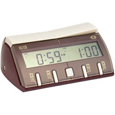 Philos 4671 DGT-XL - Reloj digital para jugar al ajedrez (con logotipo Fide)