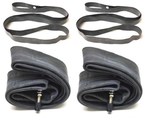 Preisvergleich Produktbild 2x Schlauch Felgenband Set 2,25 x 19 Zoll für Simson SR2 SR 2 E Reifen