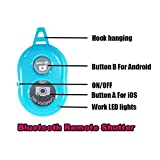 Bluetooth Remote Shutter Wireless Shutter Controller Selfie Shutter For iPhone and Android Smart Phones