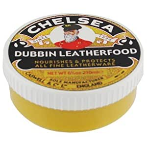 Dubbin Leatherfood - Nourishment and protection for all leather goods - Natural Colour