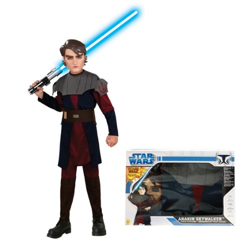 PARTY DISCOUNT NEU Kinder-Kostüm Anakin Skywalker Box Set, Gr. M